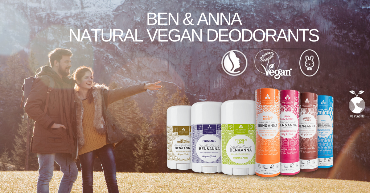 Ben & Anna Natural  Vegan Deodorants